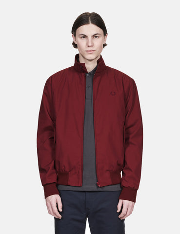 Fred Perry Re-issues Harrington Jacket (Made in UK) - Maroon