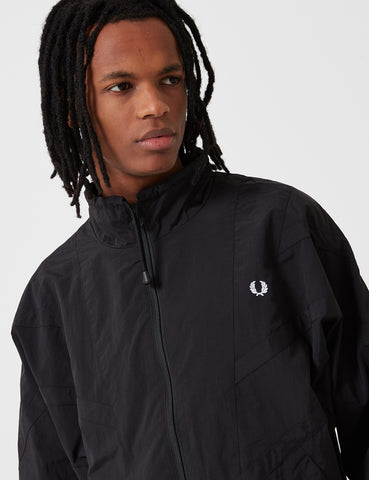 Fred Perry Monochrome Shell Jacket - Black
