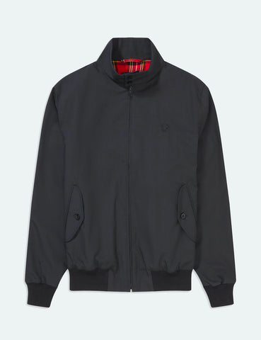 Fred Perry Re-issues Harrington Jacket (Made in UK) - Black