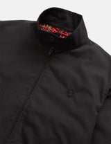Fred Perry Neuauflagen Harrington Jacke (Made in UK) - Schwarz