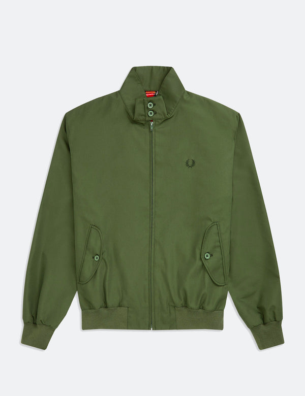 Veste Fred Perry Re-issues Harrington (Made in UK) - Vert olive