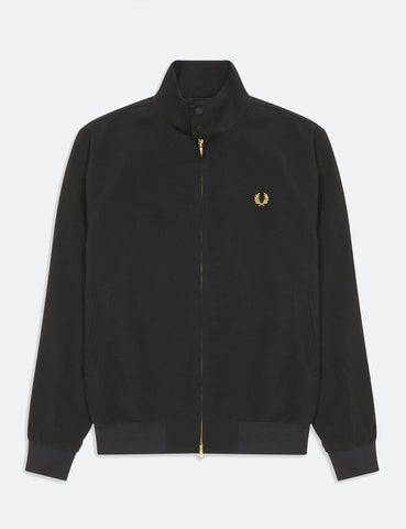 Fred Perry Lightweight Harrington Jacket - Black