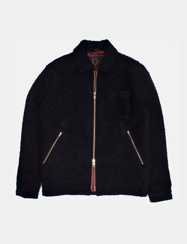Algot Navy Wool