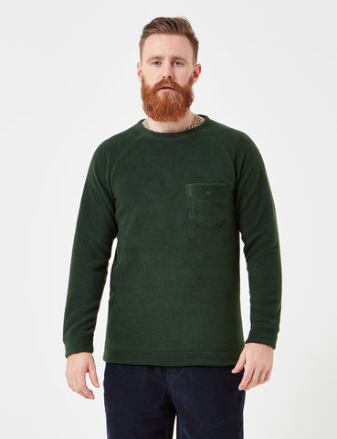 Human Scales Carlos Pocket Sweatshirt - Moss Green