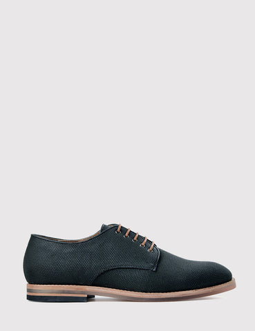 Hudson Hadstone Derby Canvas Shoes - Black