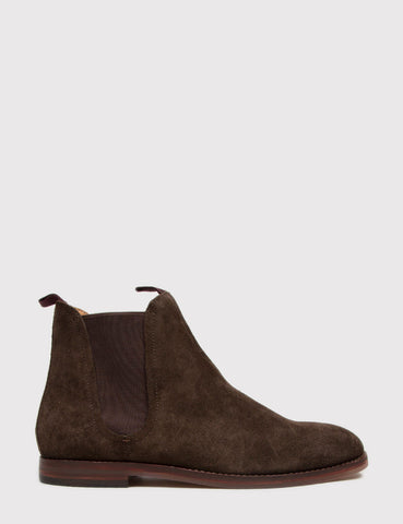 Hudson Tamper Chelsea Boot (Suede) - Brown