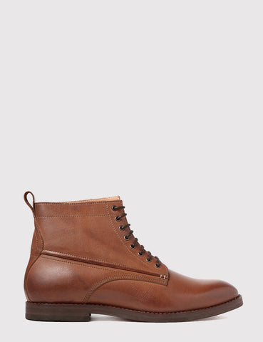 Hudson Forge Leather Boot - Tan