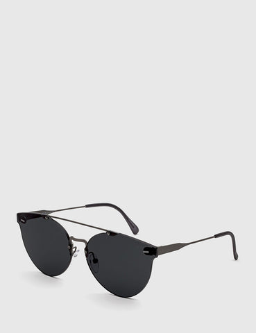 Super Tuttolente Giaguaro Sunglasses - Black