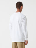 Stu Gazi Long Sleeve Bauhaus T-Shirt - White