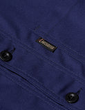 Le Laboureur Cotton Work Jacket - Navy