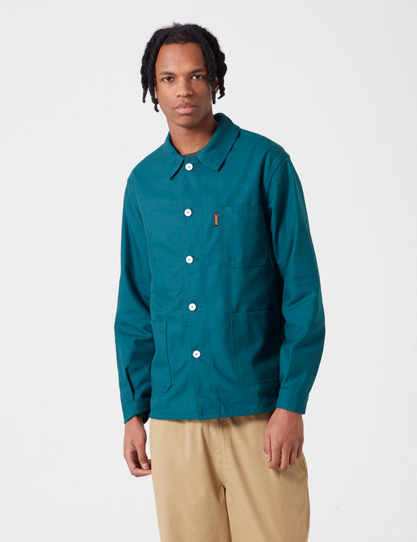 Le Laboureur Work Jacket - Dark Green