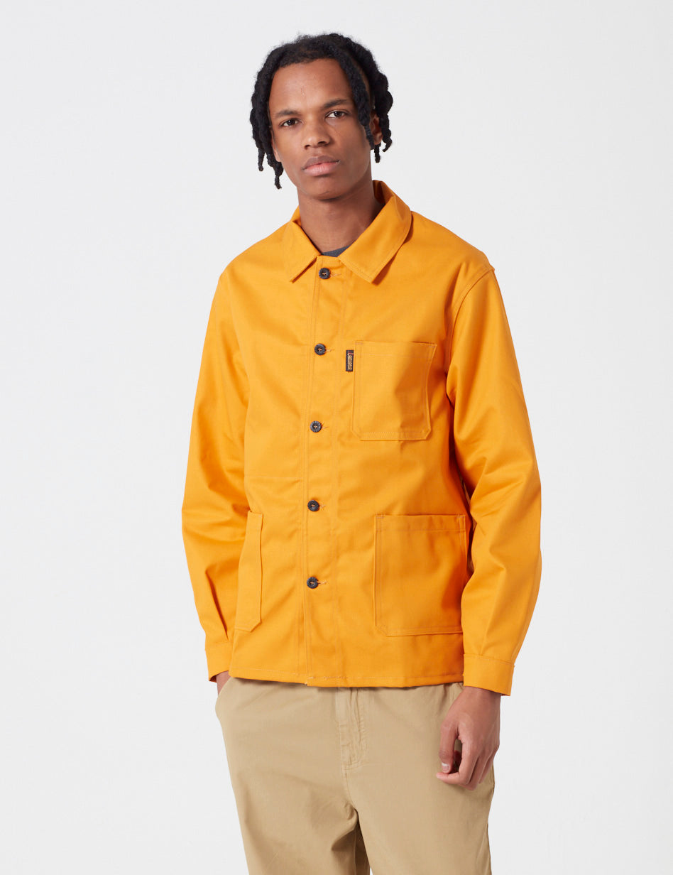 Le Laboureur Work Jacket - Turmeric Orange