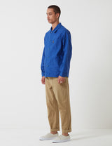 Le Laboureur Cotton Work Jacket - Bugatti Blue