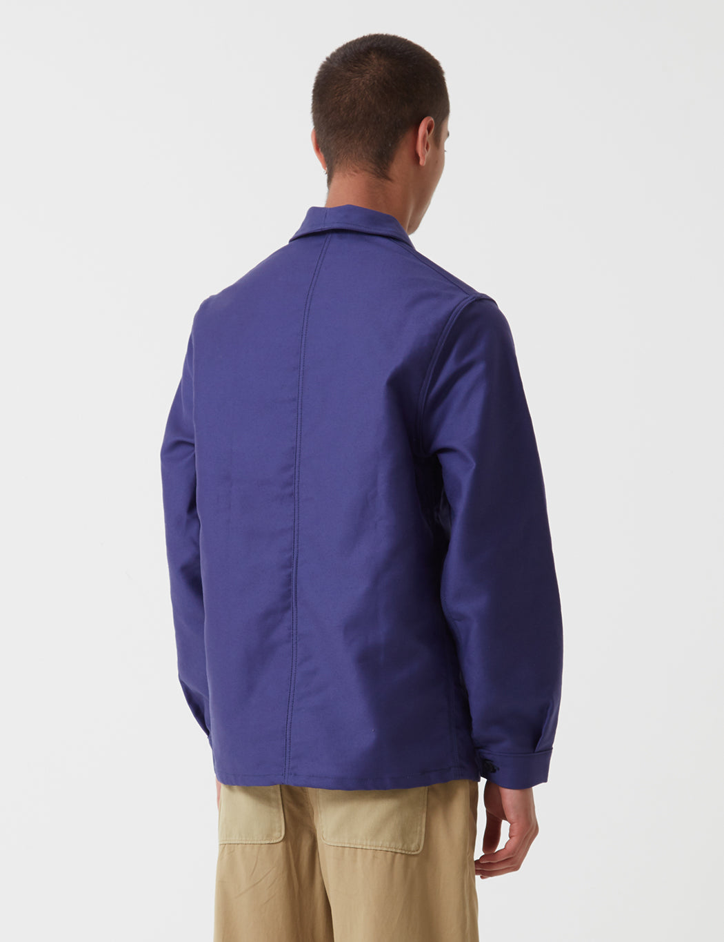 Le Laboureur Moleskin Work Jacket - Navy Blue