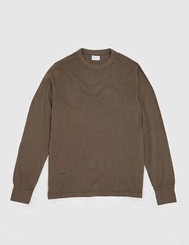 Les Basics Le Long Sleeve T-Shirt - Army Green