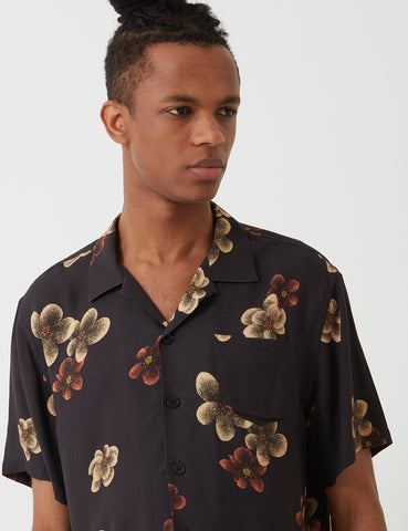 Libertine-Libertine Cave Shirt - Dark Flowers