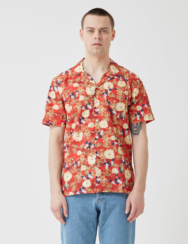 Libertine-Libertine Cave Shirt - Red Dragon
