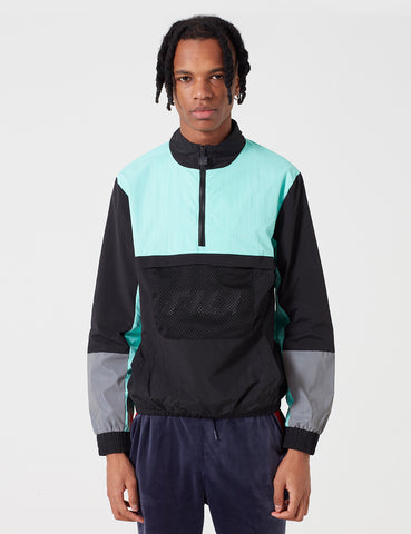 Fila Tyler 1/4 Zip Jacket - Black