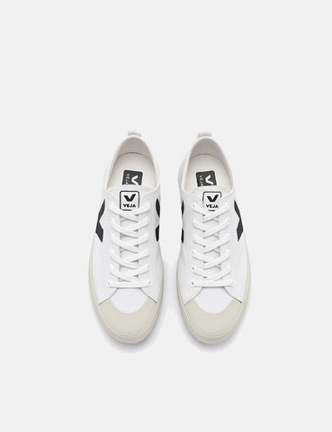Veja Nova Canvas Trainers - White/Black