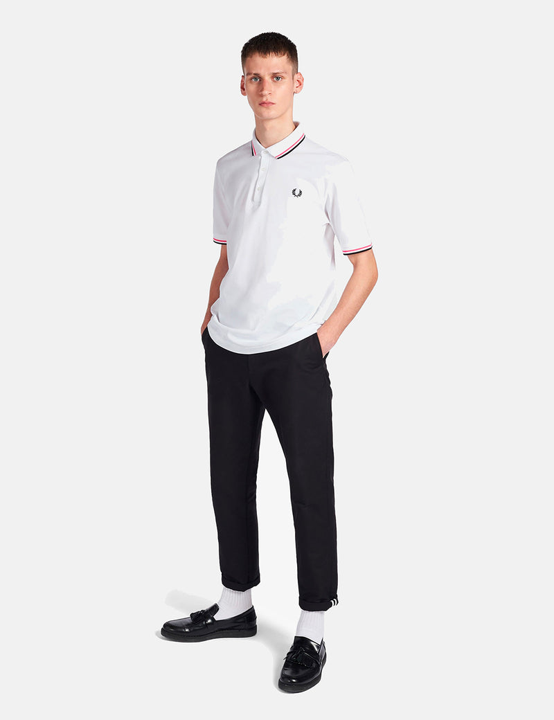 Fred Perry Made in Japan Polo Shirt - White