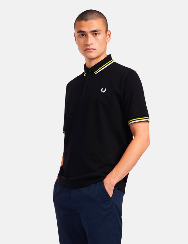 Fred Perry Made in Japan Polo Shirt - Black