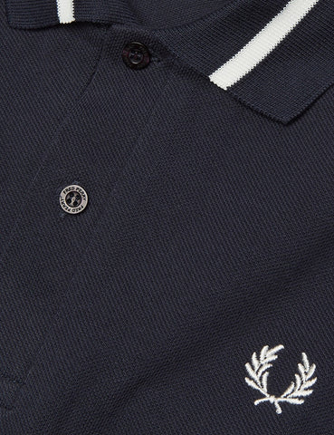 Fred Perry Single Tipped Polo Shirt - Navy