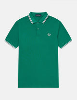 Polo Fred Perry Twin Tipped - Raf Green