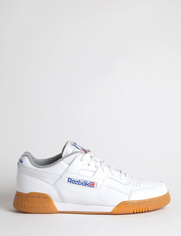 Reebok Workout Plus R12 Gum (M45031) - White/Royal/Tin Grey