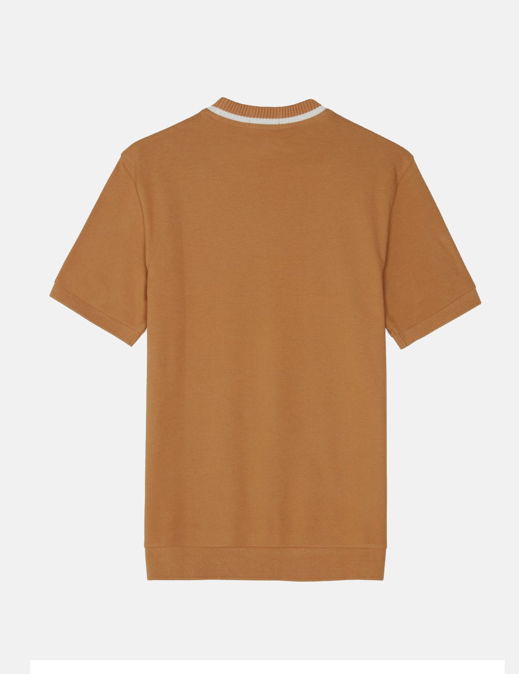 Fred Perry Re-issues Crew Neck Pique T-Shirt - Caramel Brown