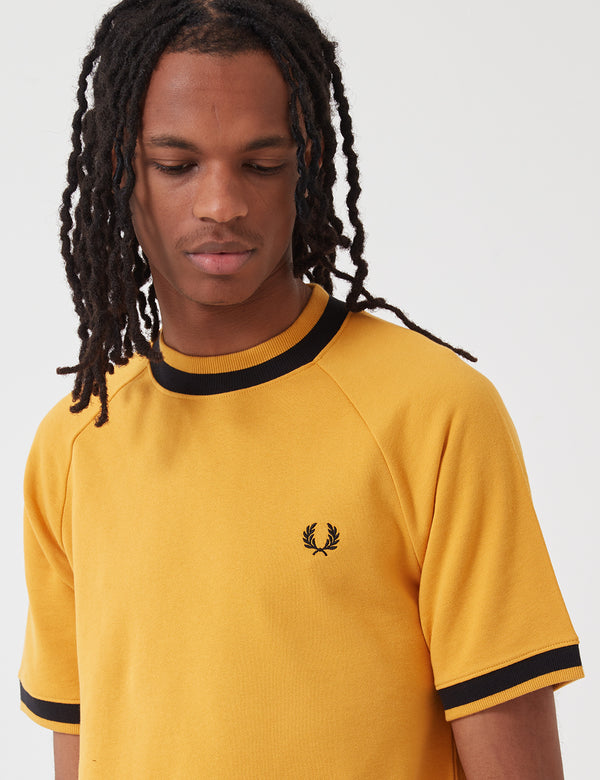 T-shirt Fred Perry Raglan Sweat Top - Or