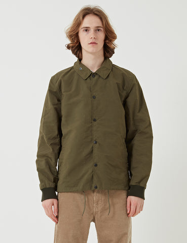 Barbour Reel Casual Coach Jacket - Fern Green