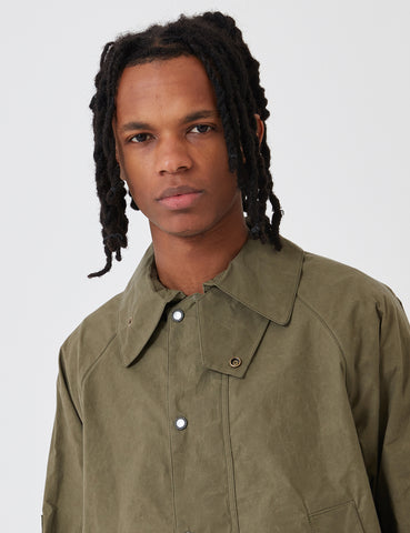 Barbour x Engineered Garments Unlined Graham Jacket - Olive