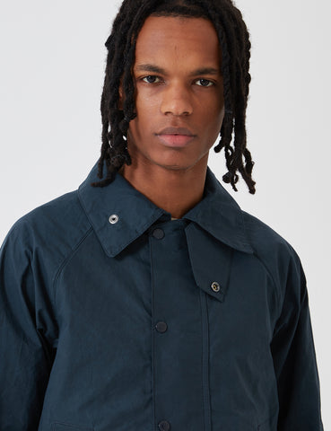 Barbour x Engineered Garments Unlined Graham Jacket - Navy Blue