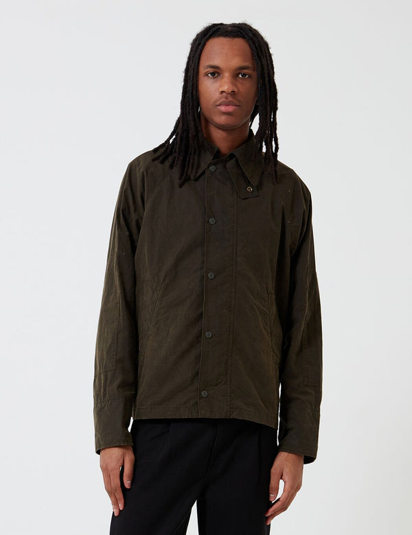 Barbour x Engineered Garments Washed Graham Casual Jacket - Olive