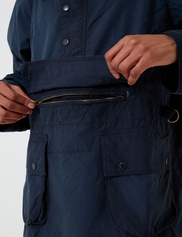 Barbour x Engineered Garments Washed Warby Casual Jacket - Navy Blue