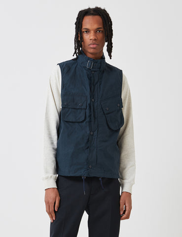 Barbour x Engineered Garments Arthur Gilet - Vulcan Navy Blue