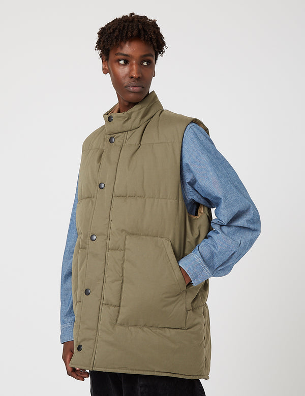 Barbour Baffle Gilet - Sage Green