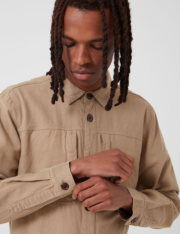 Barbour Kilda Overshirt - Stone