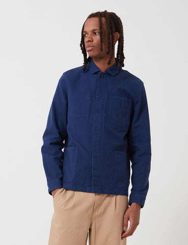Barbour Duncansea Overshirt - Regal Blue