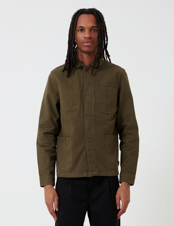 Barbour Duncansea Overshirt - Dusty Olive