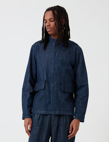 Barbour Moray Overshirt - Indigo Blue