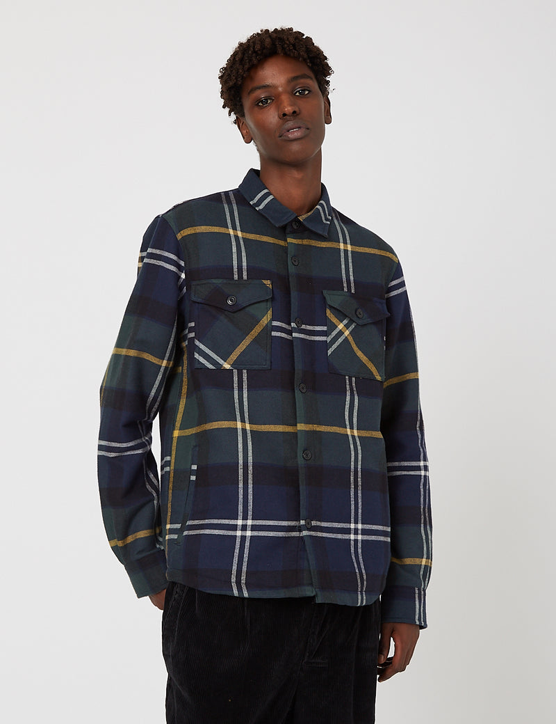 Barbour Cannich Overshirt - Seaweed Tartan