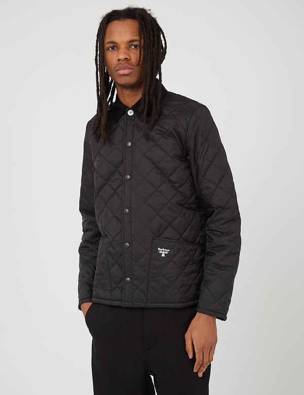 Barbour Beacon Starling Quil Jacke - Schwarz