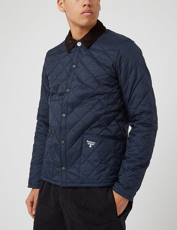 Barbour Beacon Starling Quil Jacke - Marineblau