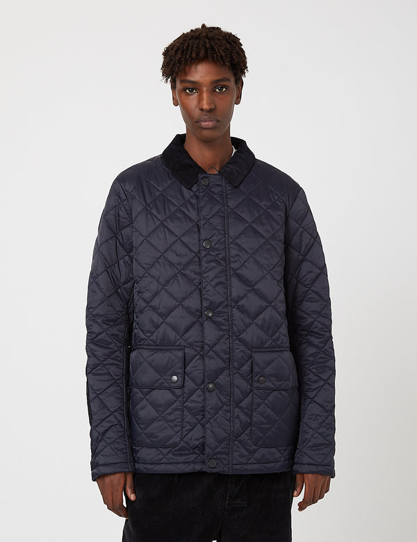 Barbour Diggle Steppjacke - Marineblau