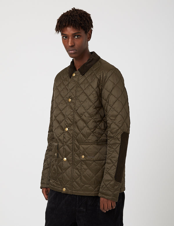 Barbour Diggle Quilted Jacket - Olive/Seaweed