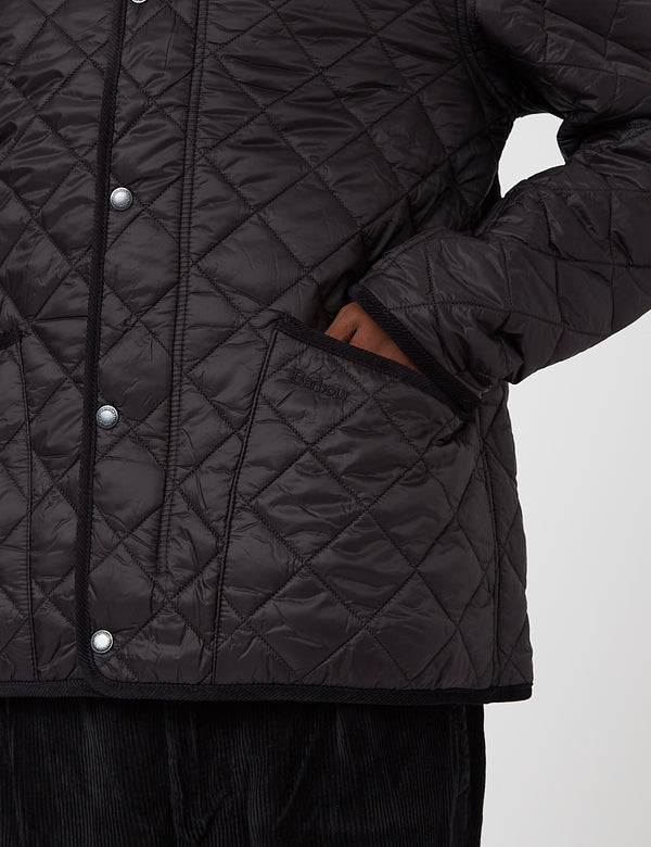 Barbour Koppel Quilted Jacket - Black