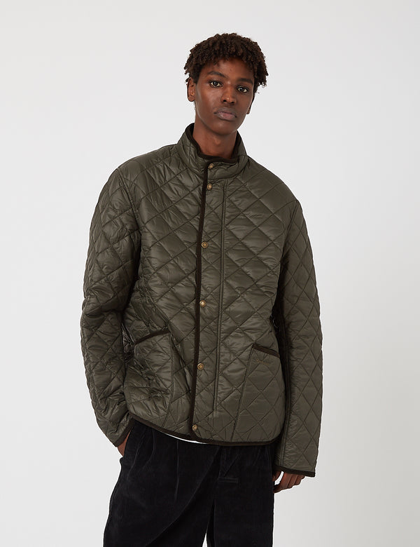Barbour Koppel Quilted Jacket - Darkest Olive