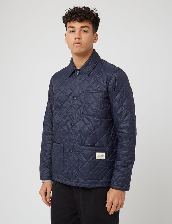 Barbour Soval Quilt Jacket - Navy Blue