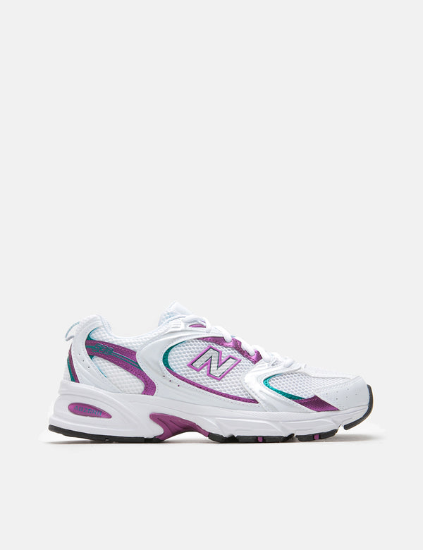 New Balance 530 Trainers (MR530SF) - White/Plum